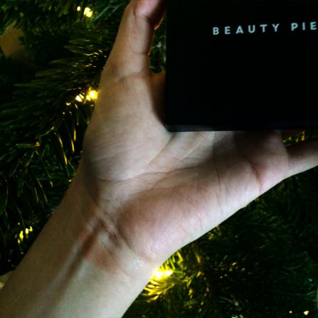 beauty pie bronzer swatch